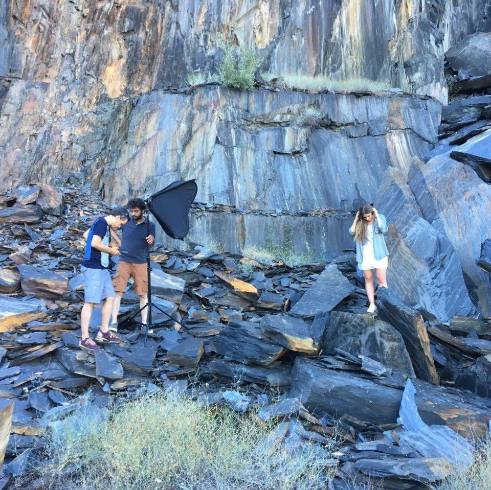 Making of a/w 16, Stone Mountain